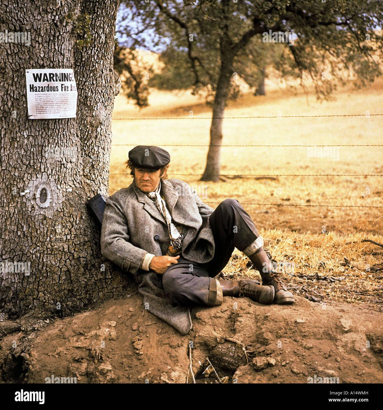 Scarecrow 1973 Jerry Schatzberg Gene Hackman Grand Prize at the 1973 Cannes International Film Festival ex aequo - Stock Image