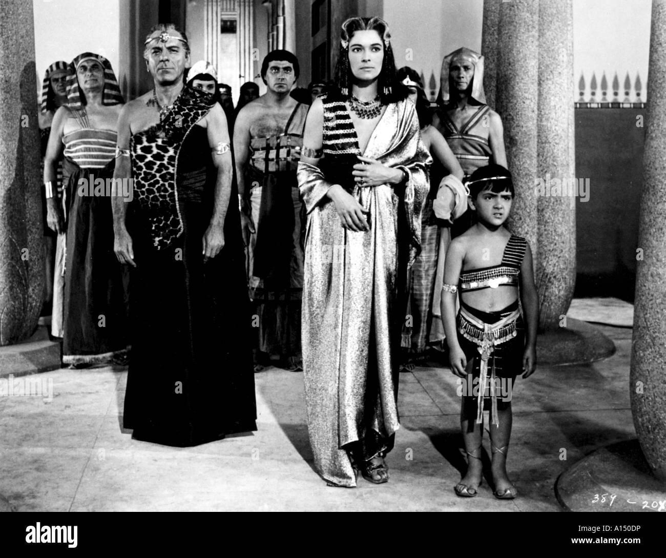 Land Of The Pharaons Year 1955 Director Howard Hawks James Robertson Justice Kerima - Stock Image