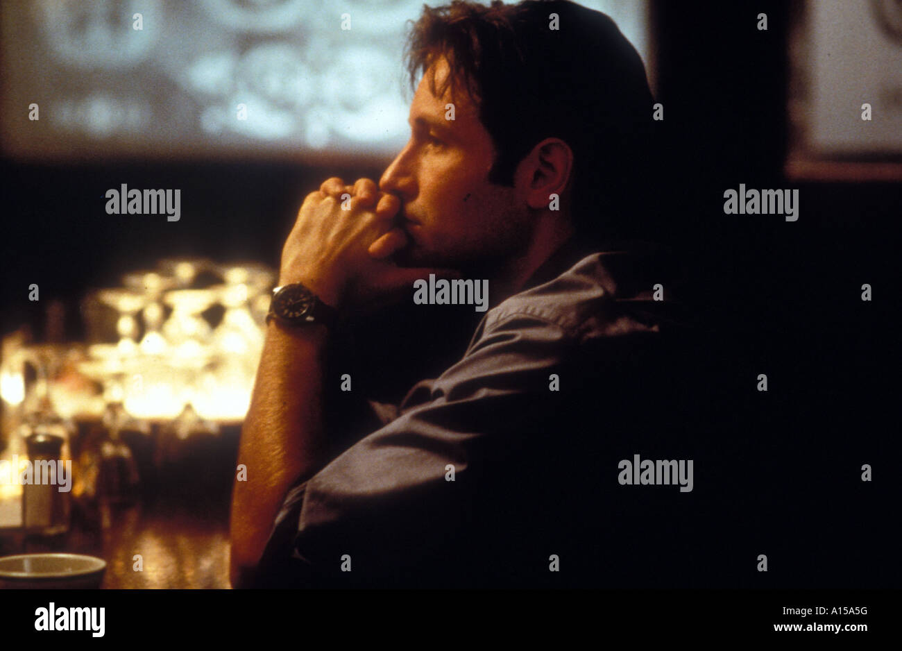 The X Files The Movie Year 1998 Director Rob Bowman David Duchovny - Stock Image