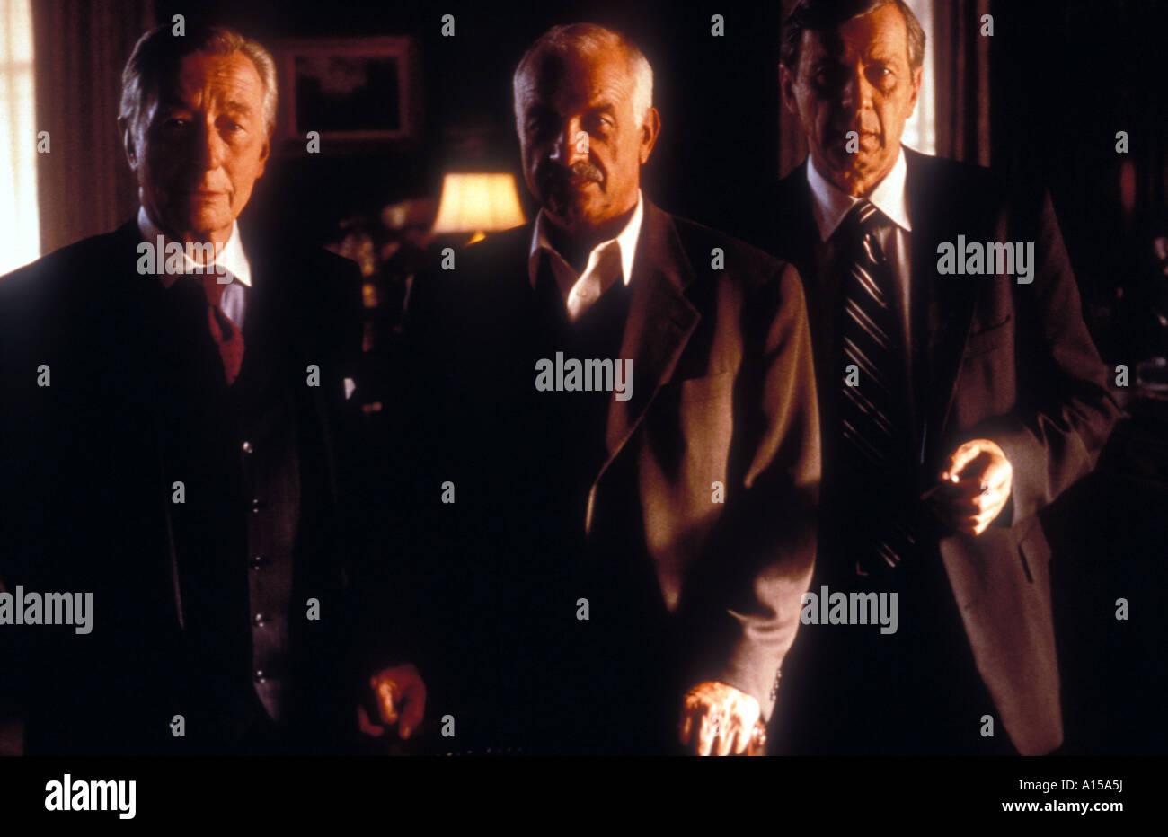 The X Files The Movie Year 1998 Director Rob Bowman John Neville Armin Mueller Stahl William B Davis - Stock Image