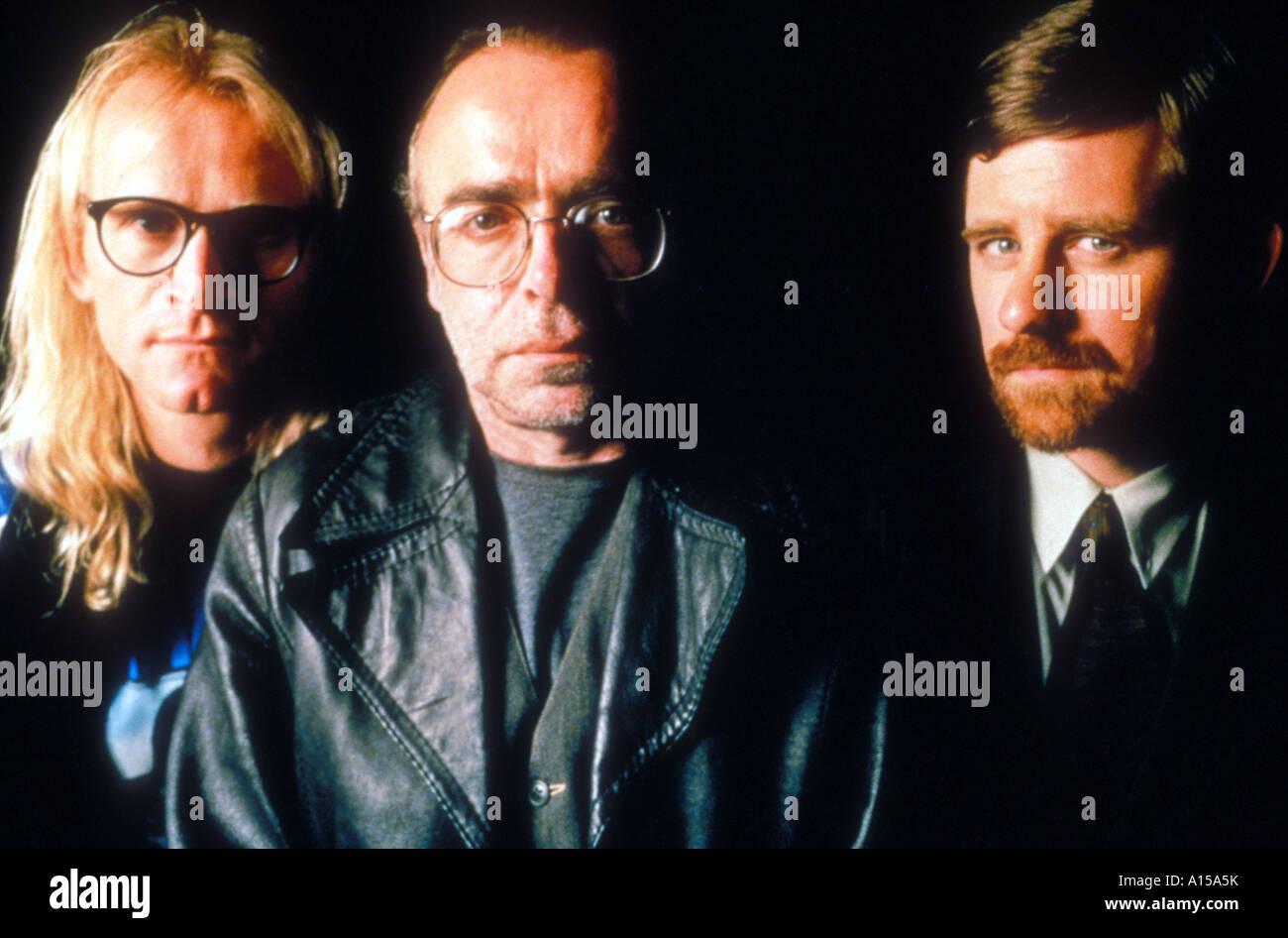 The X Files The Movie Year 1998 Director Rob Bowman Dean Haglund Tom Braidwood Bruce Harwood - Stock Image