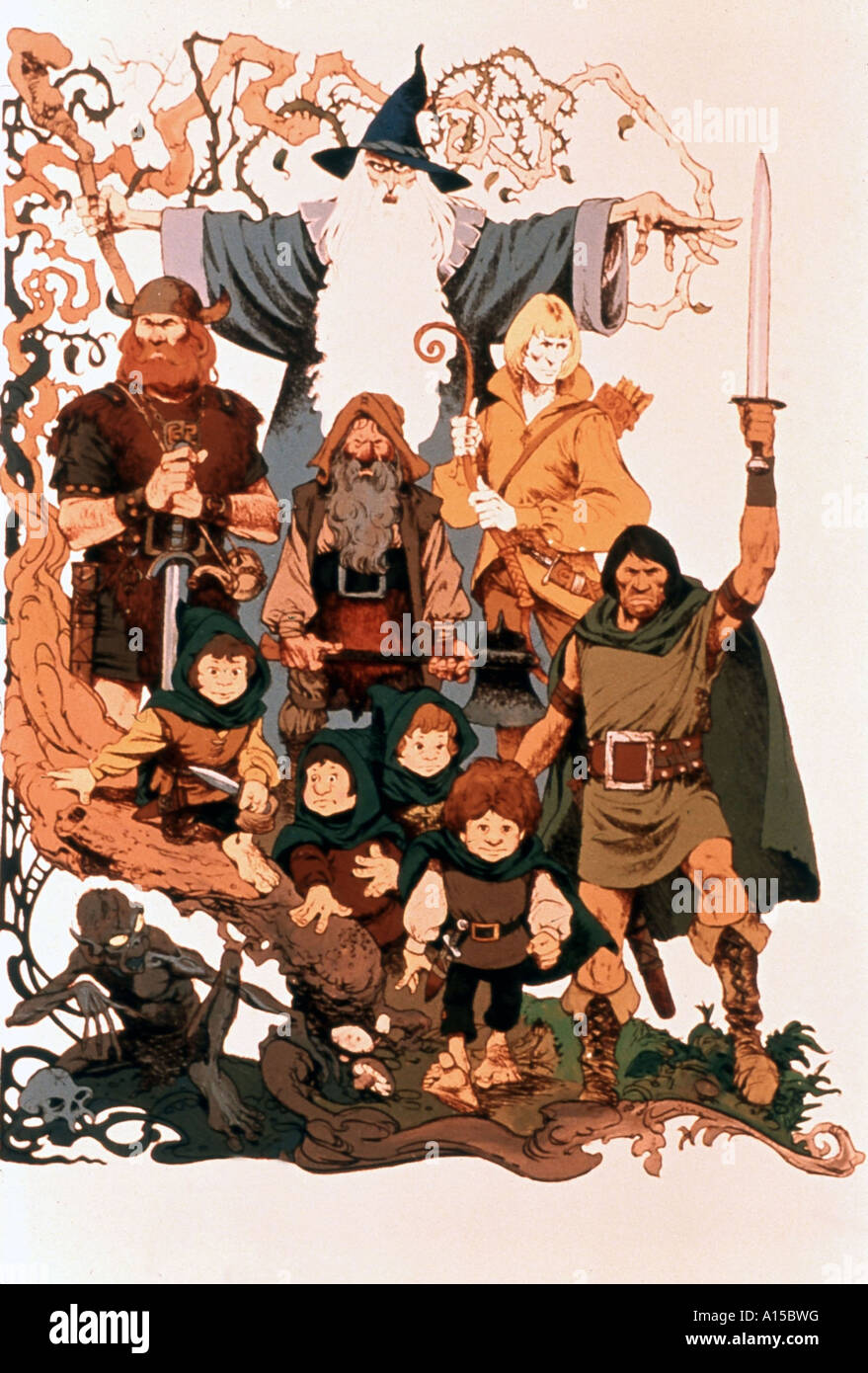 Lord Of The Rings Cartoon Film