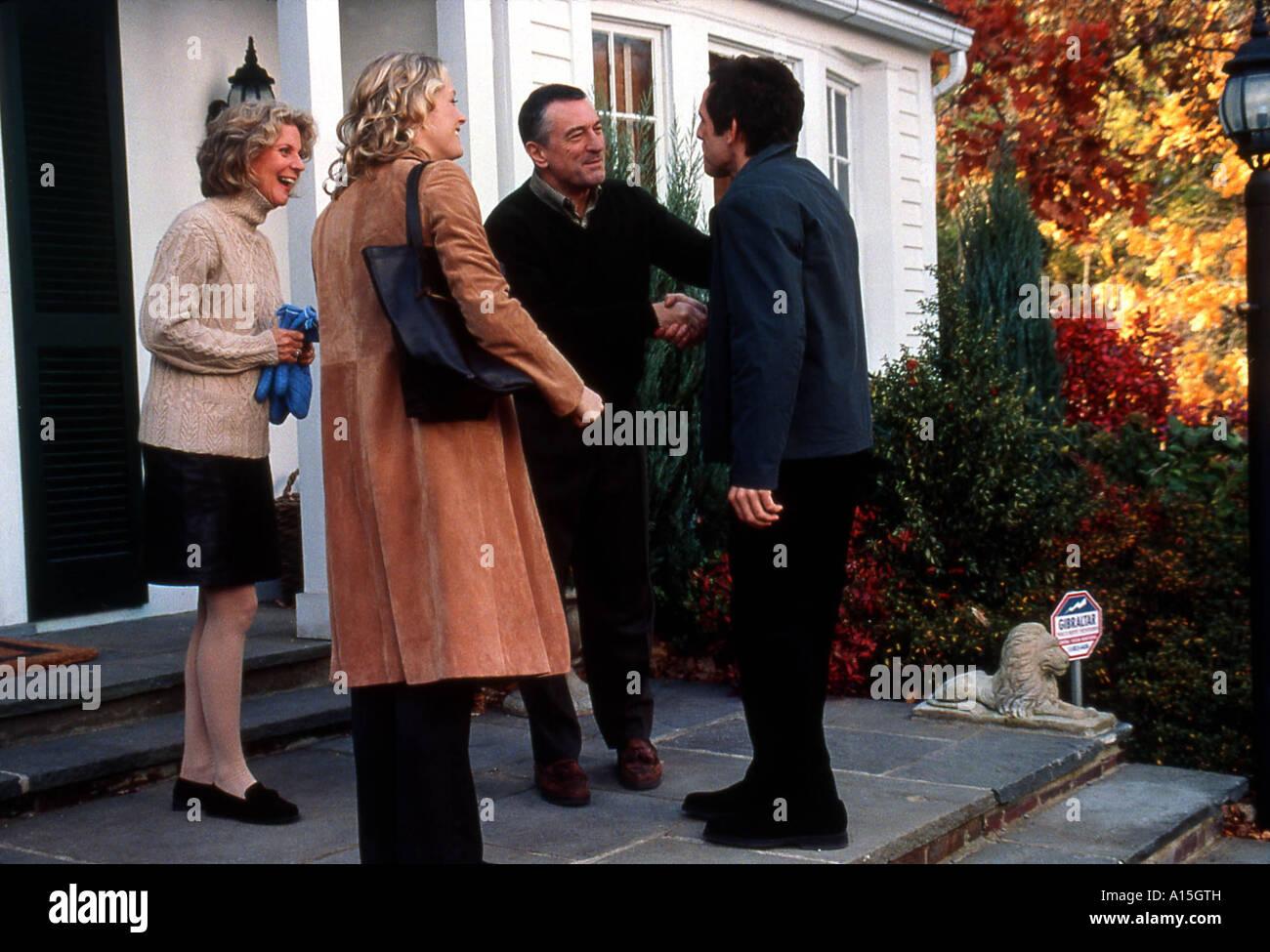 Meet the Parents Year 2000 Director Jay Roach Robert De Niro Teri Polo Blythe Danner Ben Stiller - Stock Image