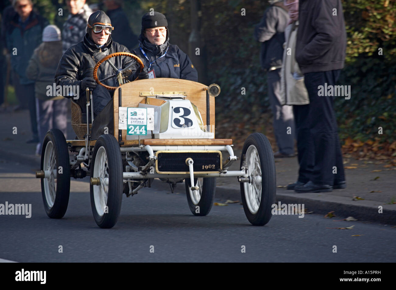 1903 De Dion Bouton Special in the 2006 London to Brighton Veteran car run - Stock Image