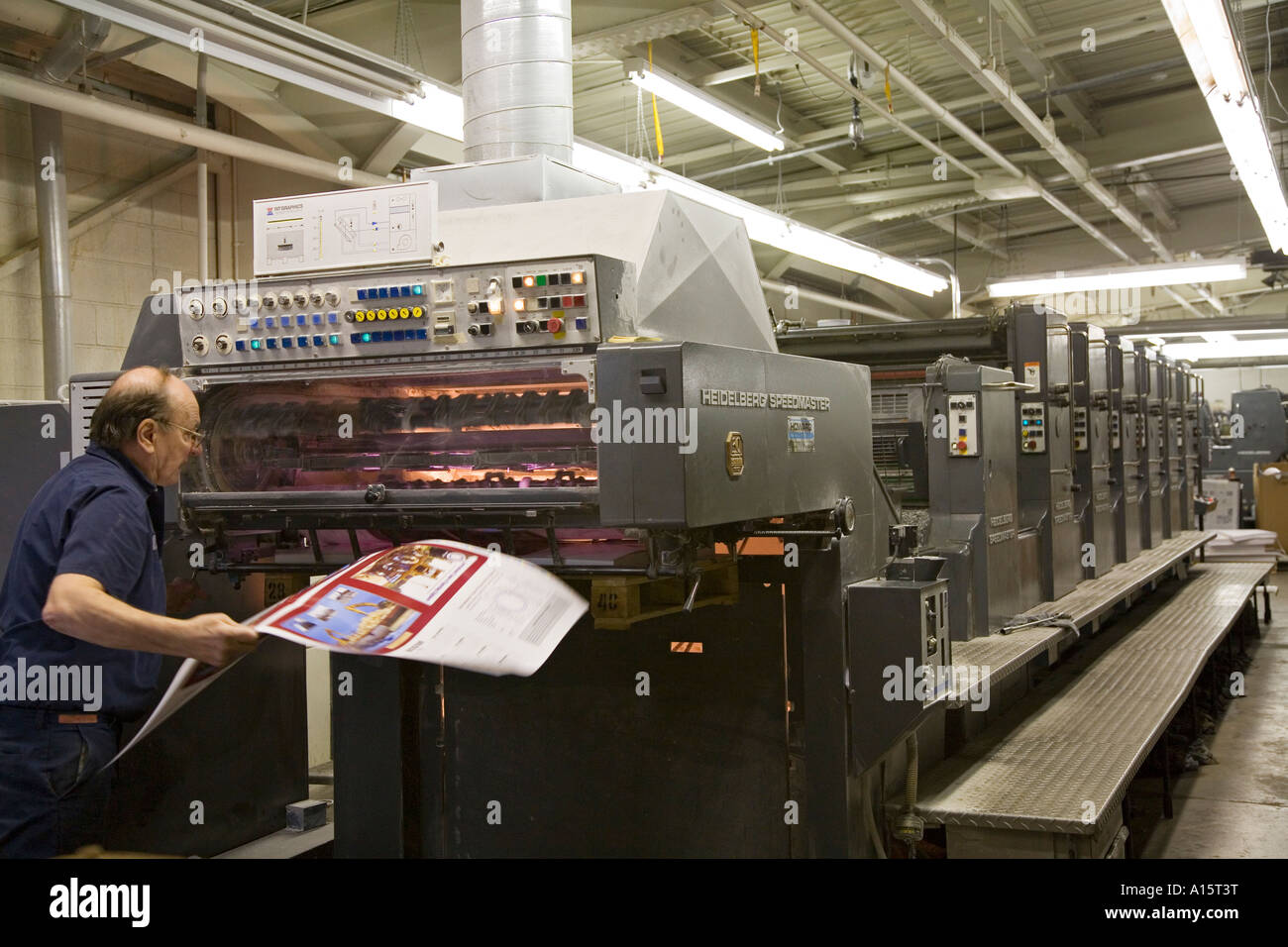 Printer - Stock Image