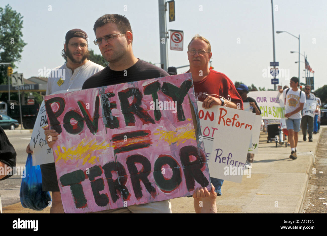 Detroit Michigan Poor People S March And Rally Sponsored By The Stock Photo Alamy