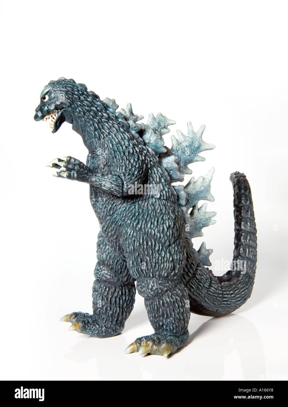 Godzilla Toy - Stock Image