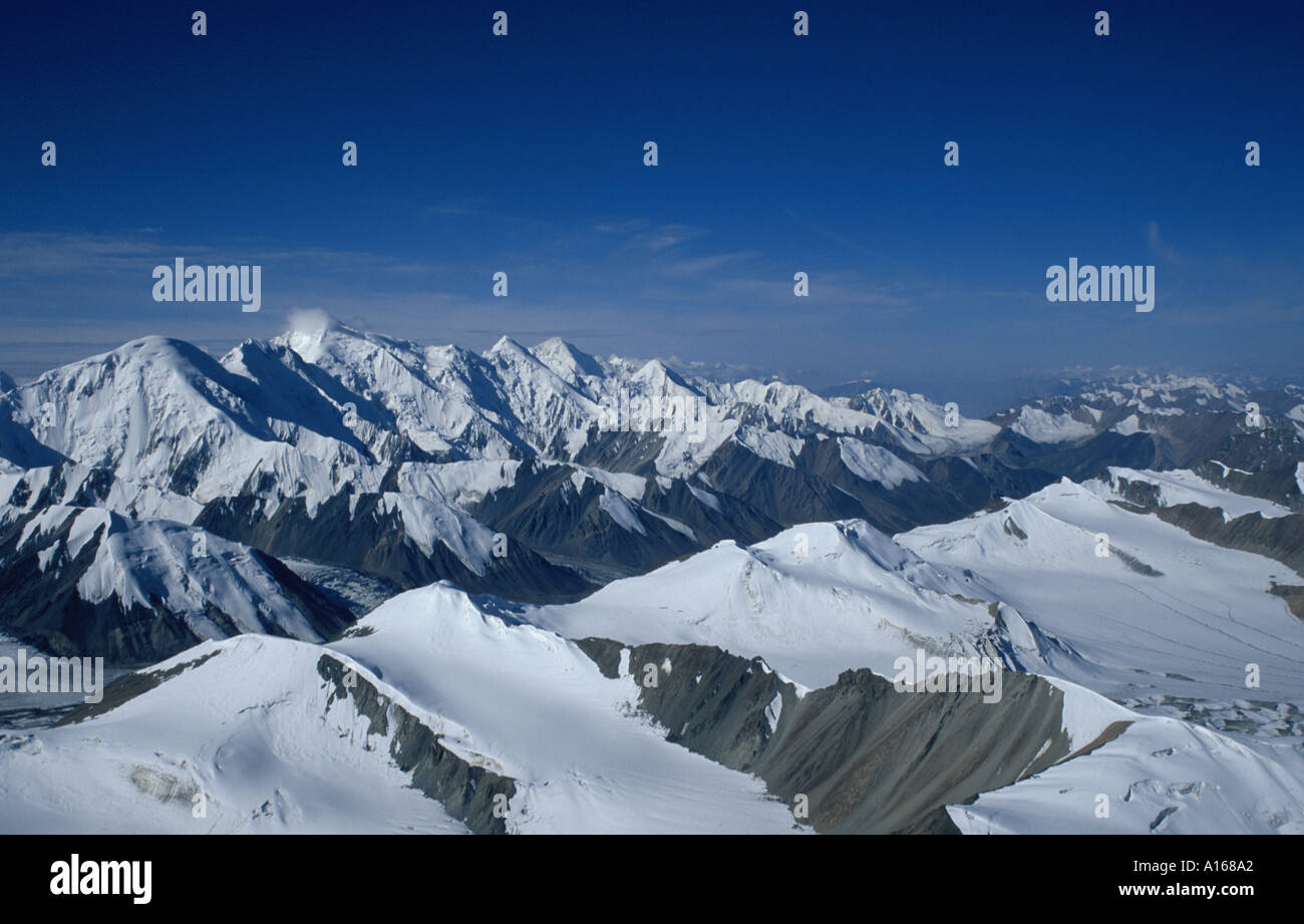 Tian Shan Mountains in Kazakstan - Stock Image