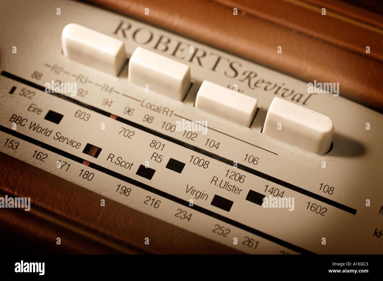 Retro Roberts Revival Radio - Stock Image