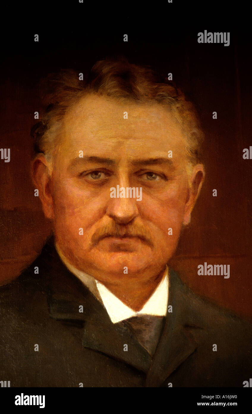 South Africa Beers Diamond Mine Cecil Rhodes Kimberly - Stock Image