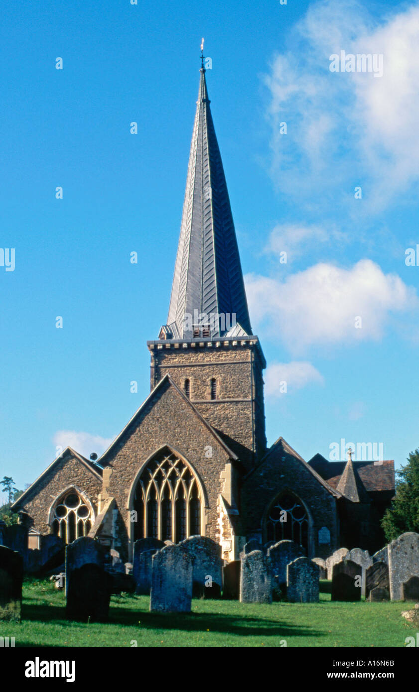 Church of St Peter St Paul in Godalming, Surrey, England, UK - Stock Image
