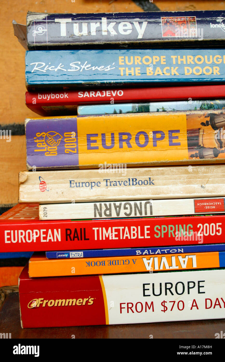 f22b6323e8b Travel Books Passport Backpack Stock Photos & Travel Books Passport ...