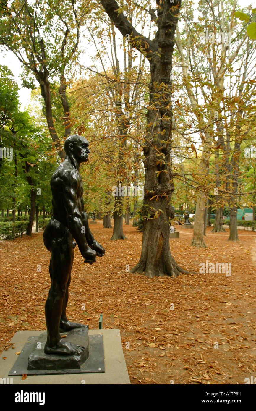 Fun Garden Landmark Mannequin Model Relax Sculpture Trip Musee Rodin ...