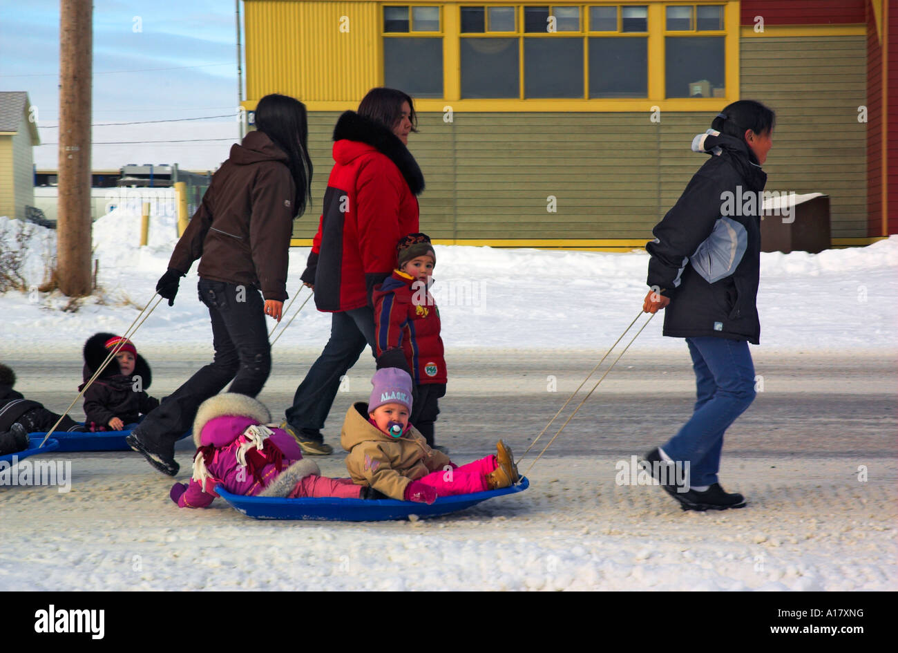 arctic village girls 'the most beautiful girl in the world':  27, who recalled dogsled trips from her arctic village as a girl but she has since seen the world, from cairo to new york.