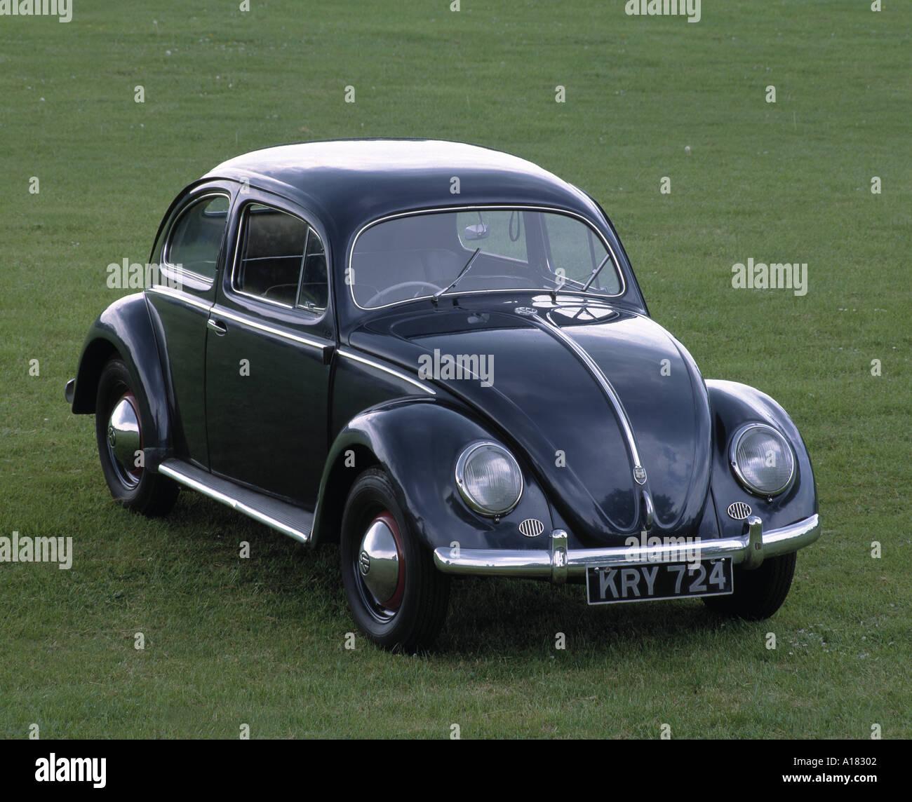 1953 Volkswagen Beetle export Stock Photo