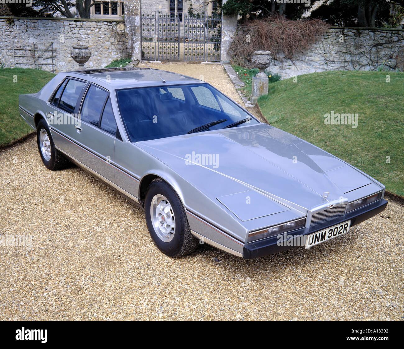 1977 Aston Martin Lagonda Stock Photo Alamy