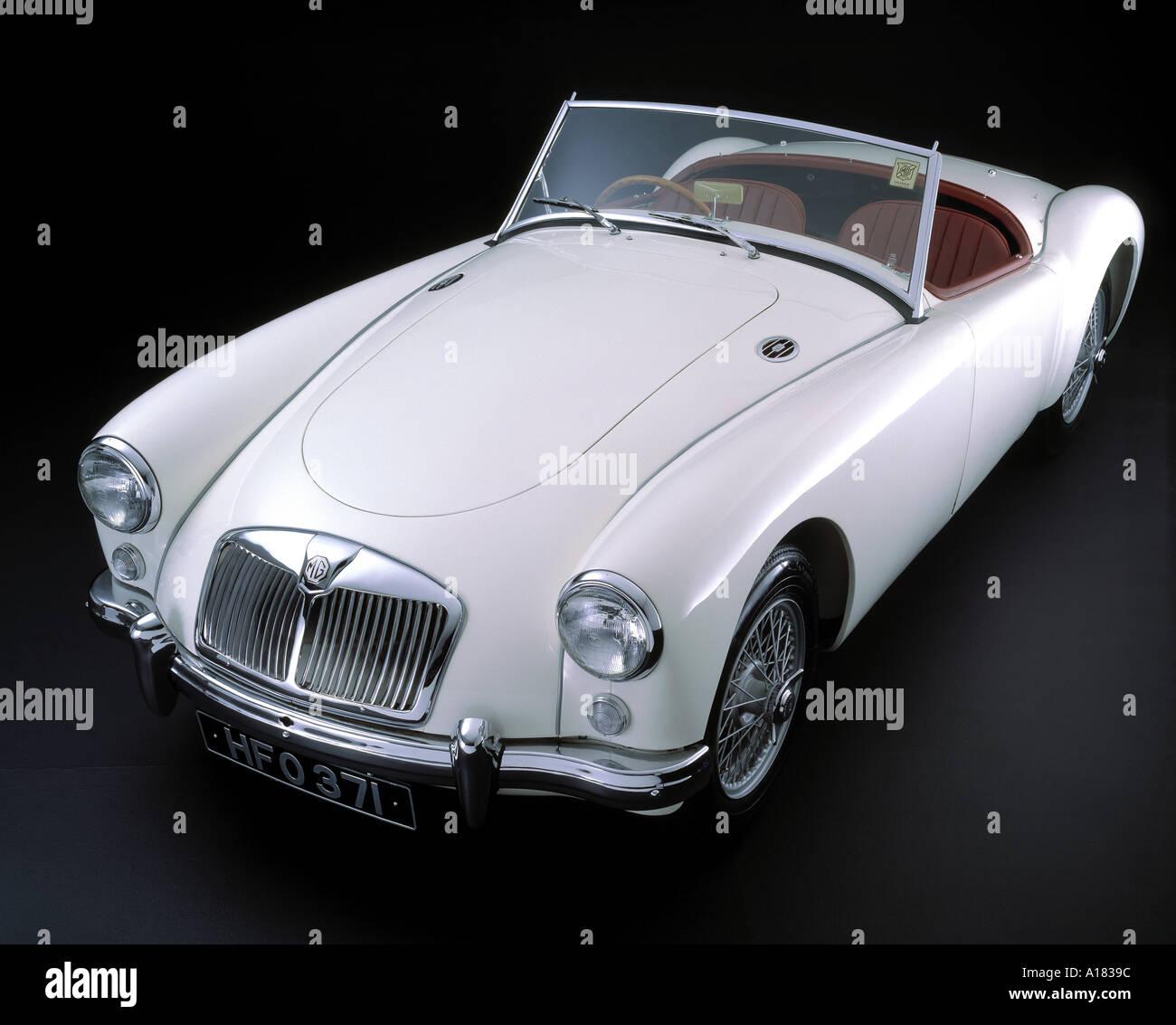 1956 MG A 1500 - Stock Image