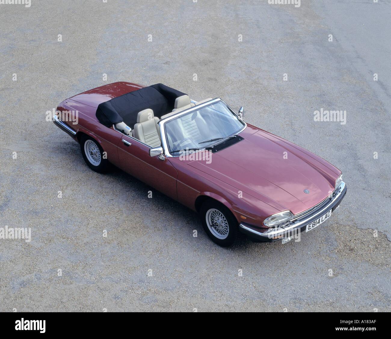 1988 Jaguar XJS V12 convertible Stock Photo