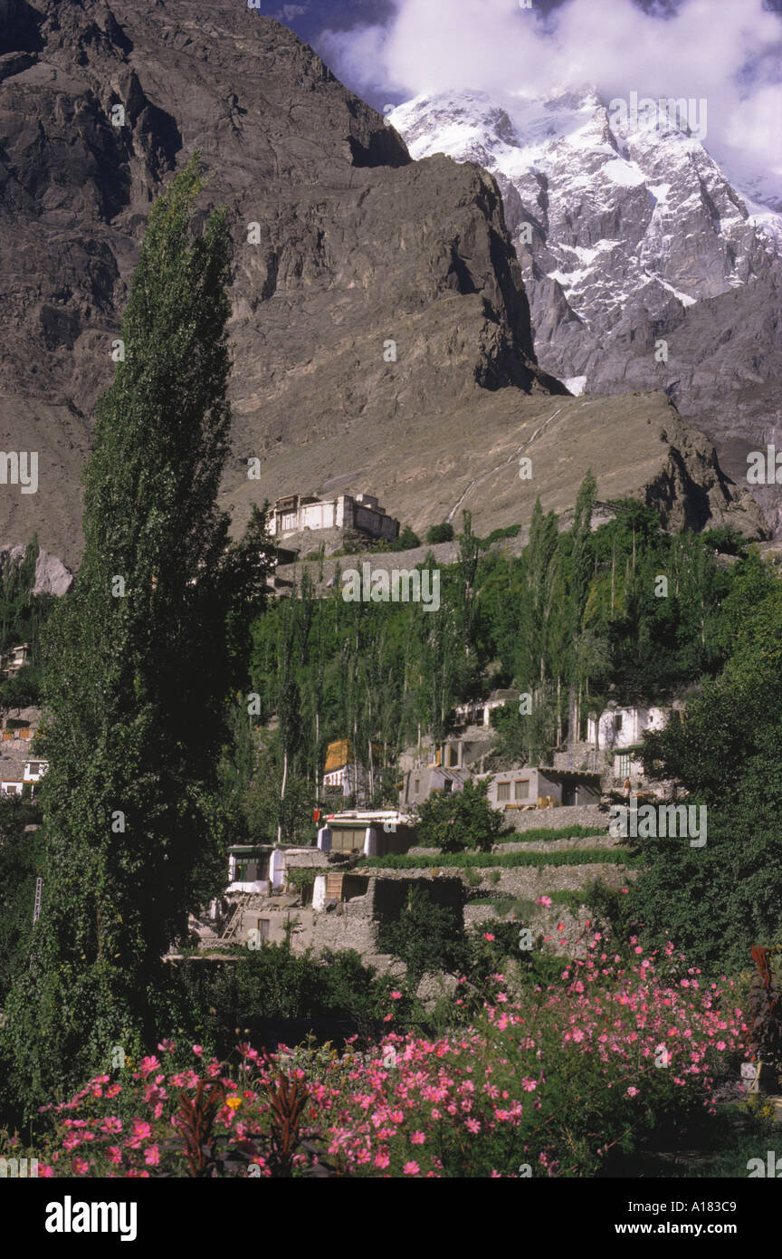 The village of Baltit in Hunza Pakistan Asia S Sassoon - Stock Image