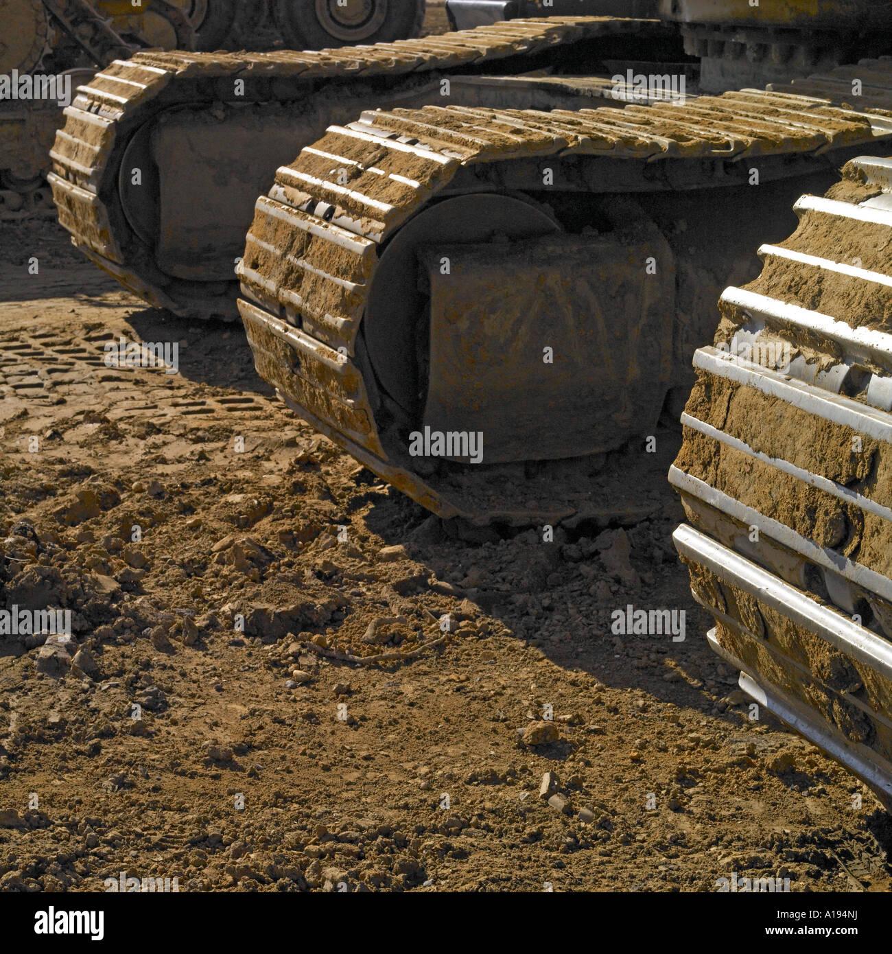 Civil engineering machine Stock Photo