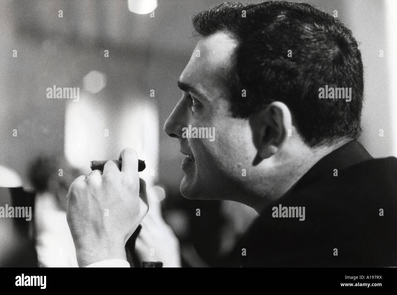HAROLD PINTER British playwrite and author about 1958 - Stock Image