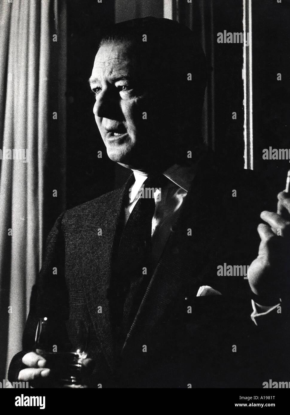 TERENCE RATTIGAN British playwright 1911 to 1977 - Stock Image
