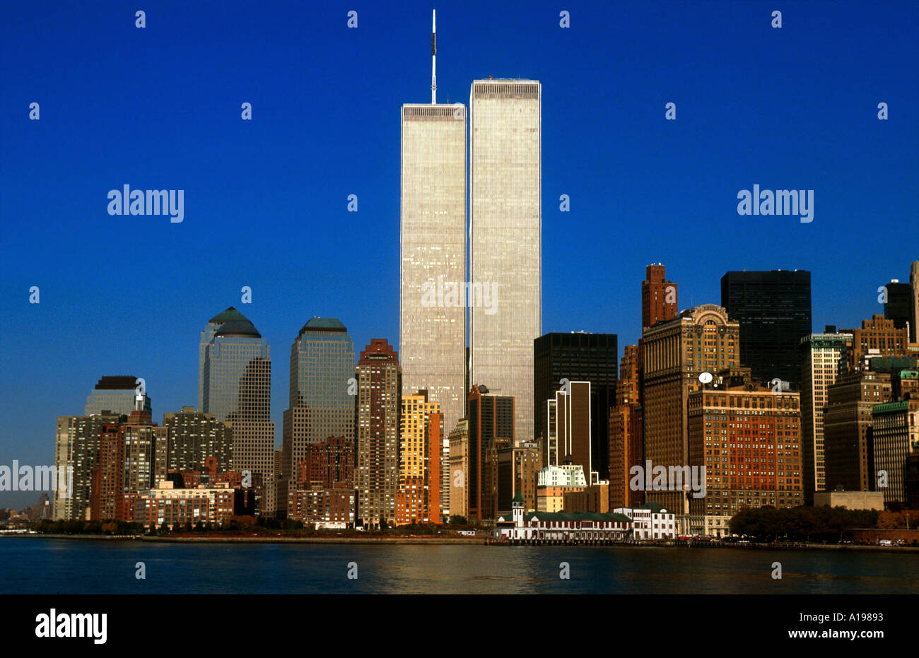 Twin Towers New York City Usa