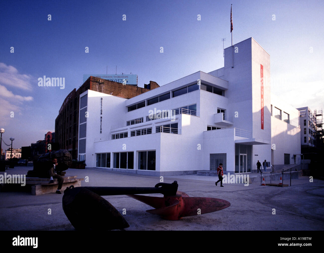 The design museum south bank london stock photo 10186584 alamy the design museum south bank london malvernweather Images