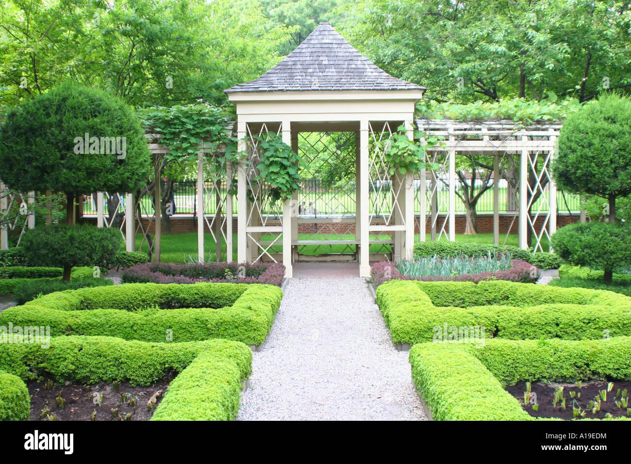 Colonial Garden, Philadelphia