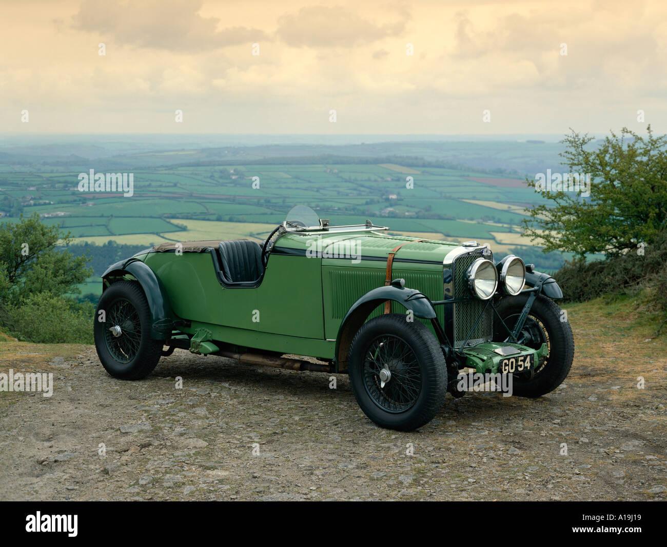 1931 Talbot 105 3 0 litre racing team car Reg GO54 Country of origin United Kingdom - Stock Image