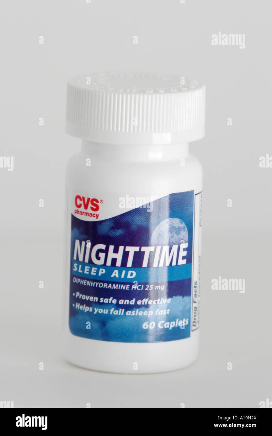 miami beach florida product packaging bottle cvs nighttime sleep aid stock photo  10189681