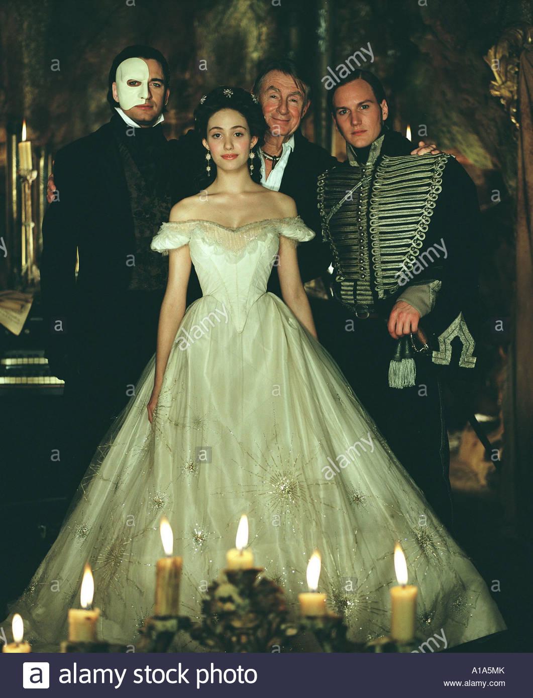 Butler Emmy Rossum Phantom Opera Stock Photos & Butler ... Patrick Wilson Phantom Of The Opera