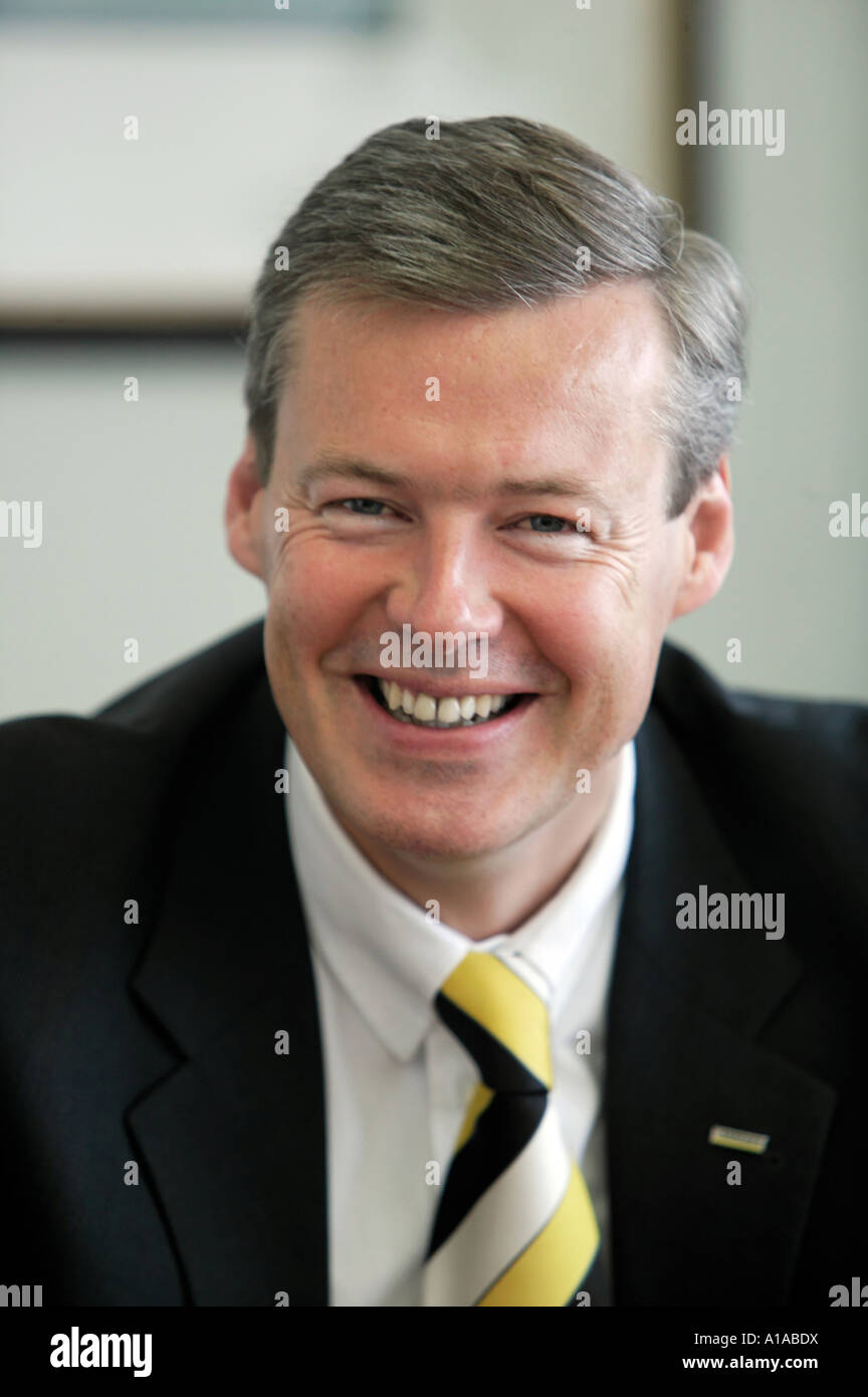 Hartmut Jenner, manager of the Alfred Kaercher Ltd & Co.KG - Stock Image