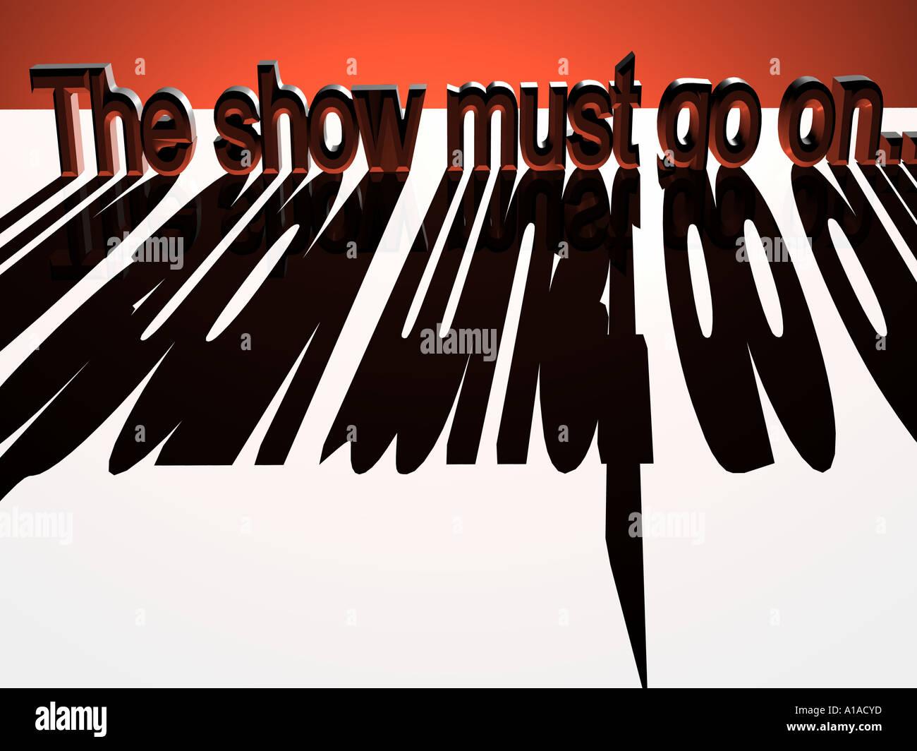 Shinji Schneider The Show Must Go On Deutsch Ro Spot Shop 11