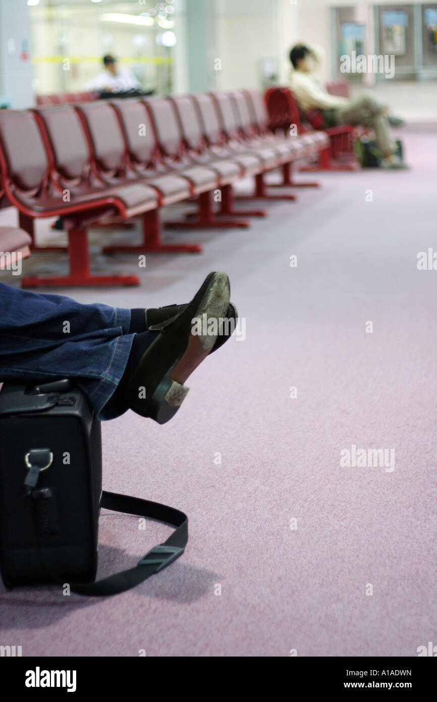 Airport Taipeh, Taiwan - Stock Image