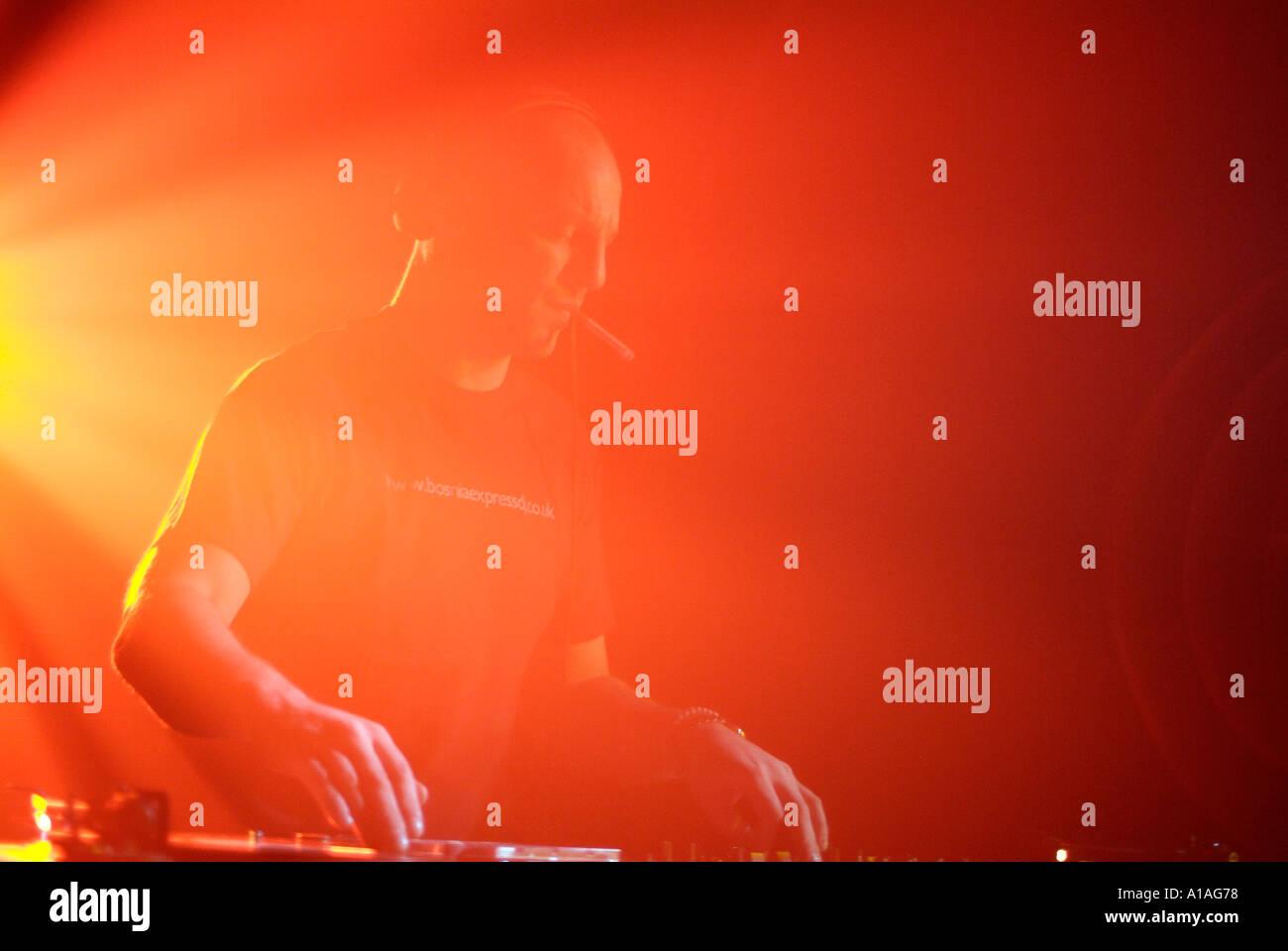 Club DJ - Stock Image