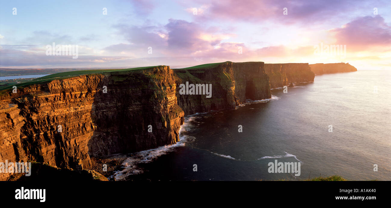 Cliffs Of Moher Co Clare Ireland - Stock Image