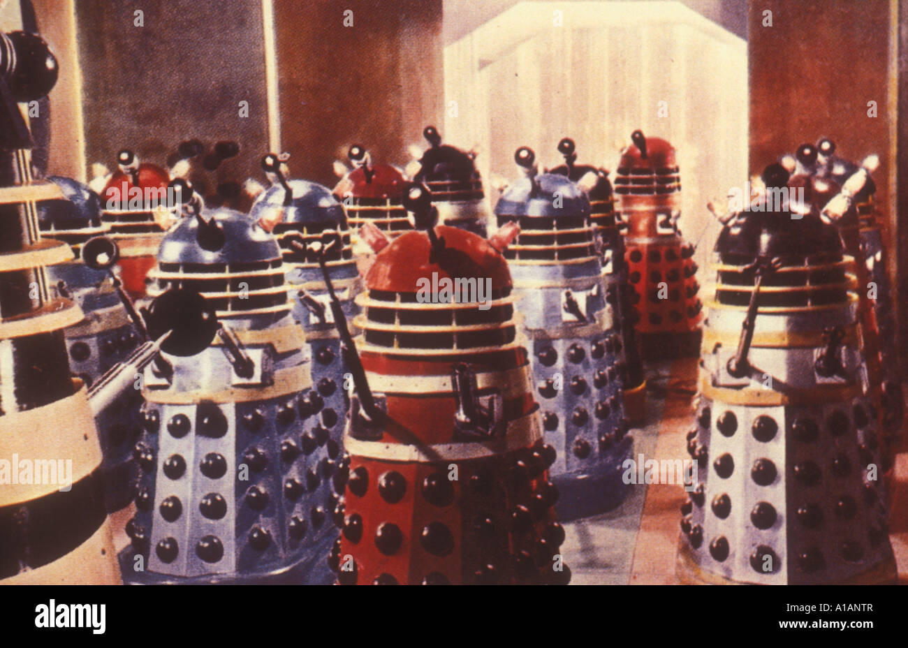 Daleks Invasion Earth 2150 A D Year 1966 Director Gordon Fleming - Stock Image