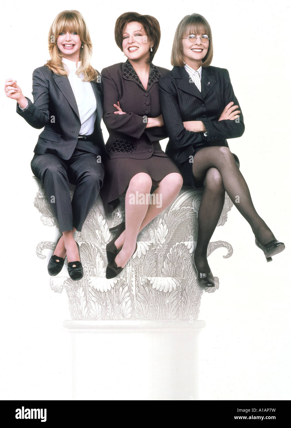 The First Wives Club Year 1996 Director Hugh Wilson Goldie Hawn Bette Midler Diane Keaton - Stock Image
