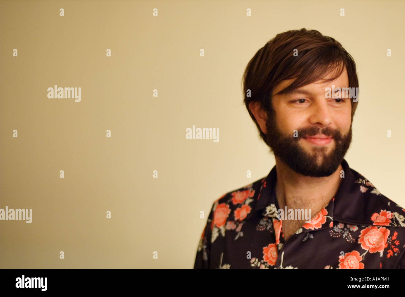 Portraits, Man - Stock Image