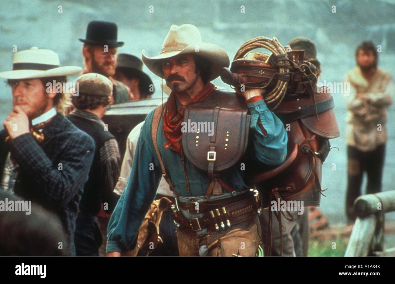 3df4618f1512f Quigley Down Under Year 1990 Director Simon Wincer Tom Selleck Stock ...