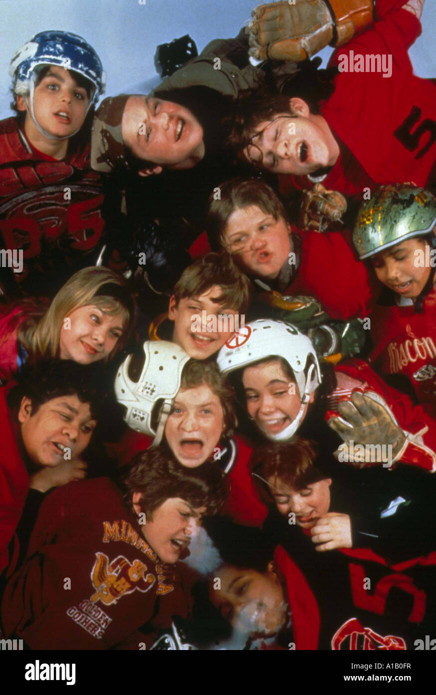The Mighty Ducks Year 1992 Director Stephen Herek Emilio Estevez - Stock Image