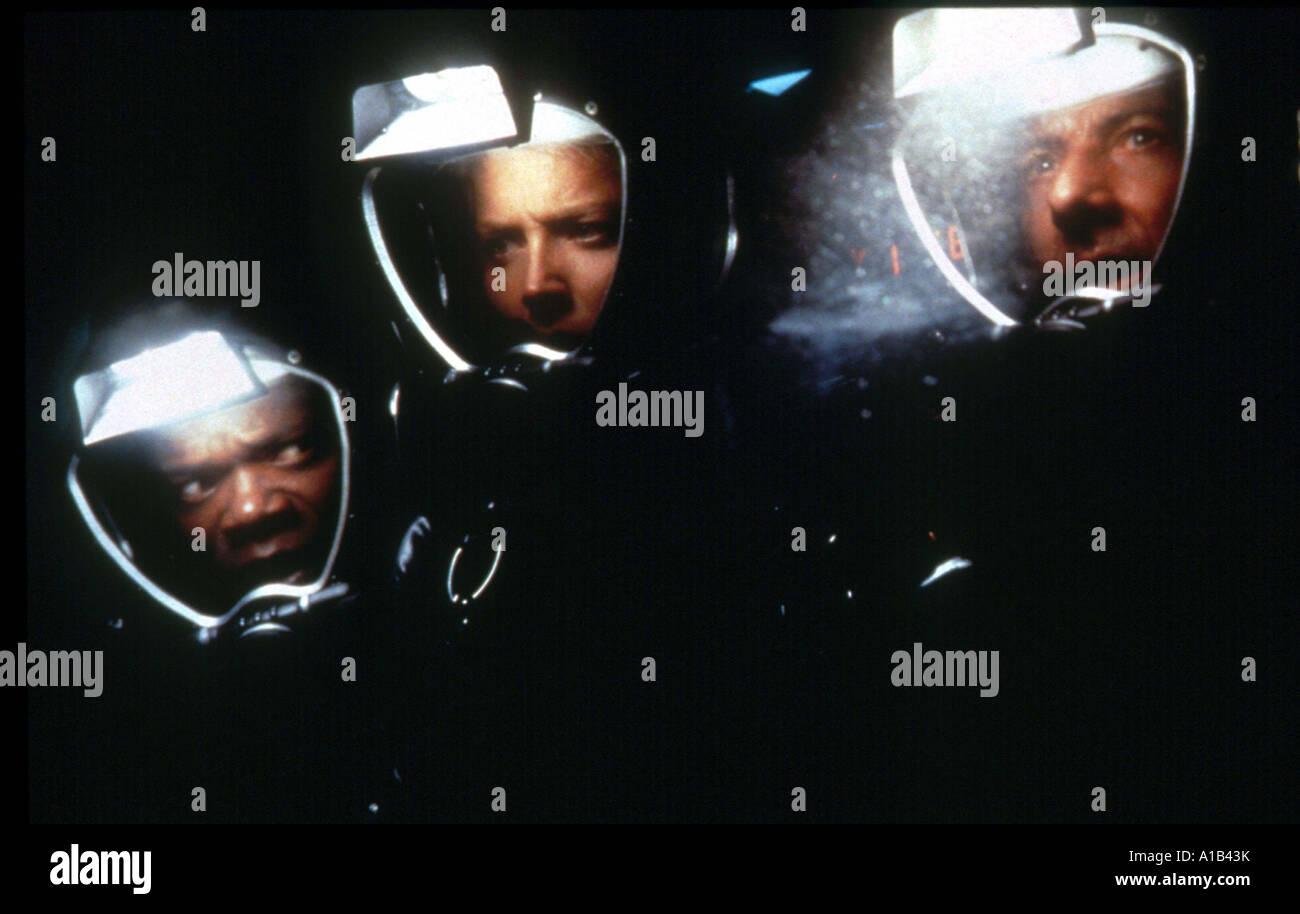 Sphere Year 1998 Director Barry Levinson Dustin Hoffman Samuel L Jackson Sharon Stone Based upon Michael Crichton - Stock Image