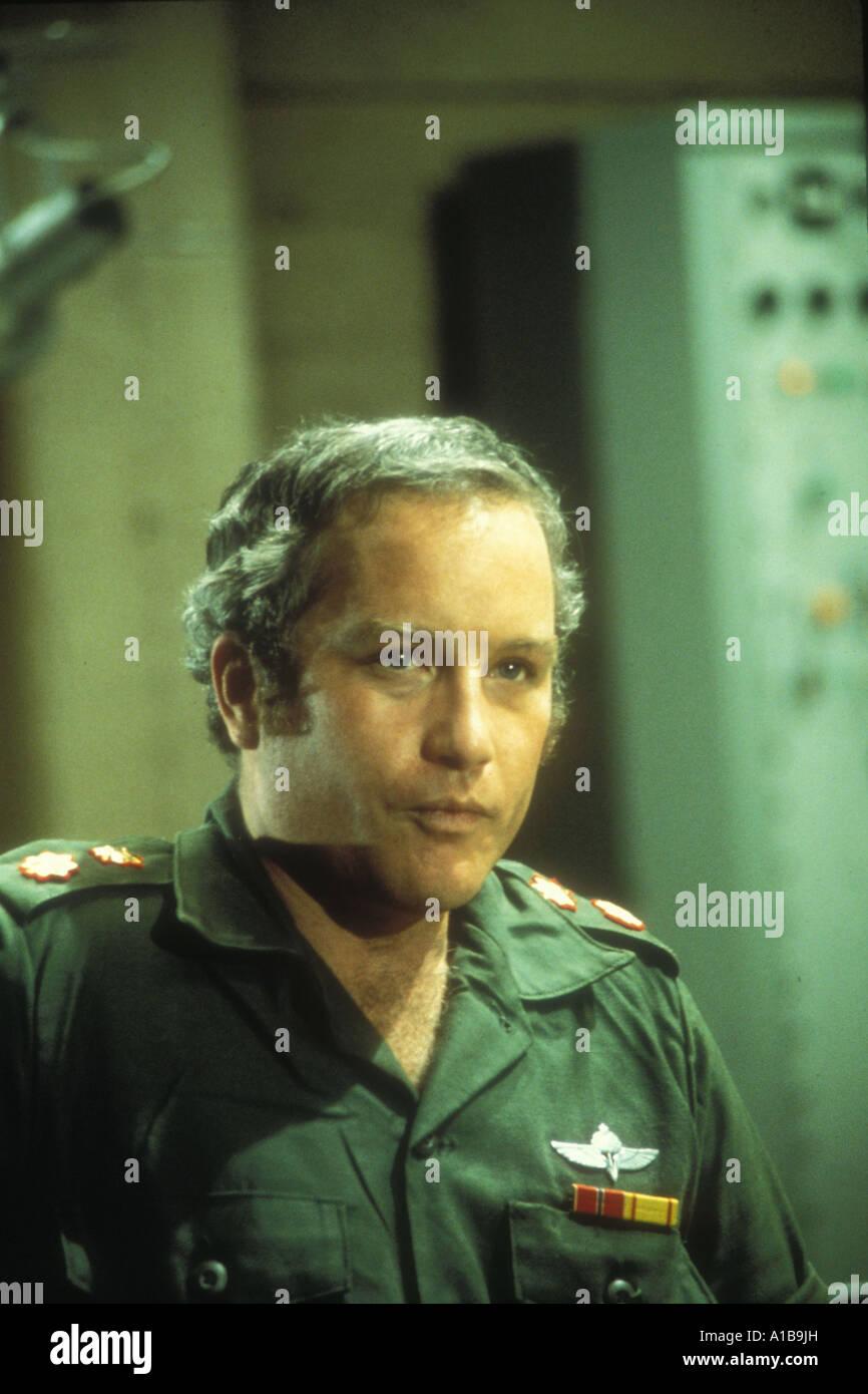 Victory At Entebbe Year 1976 Director Marvin J Chomsky Richard Dreyfuss - Stock Image