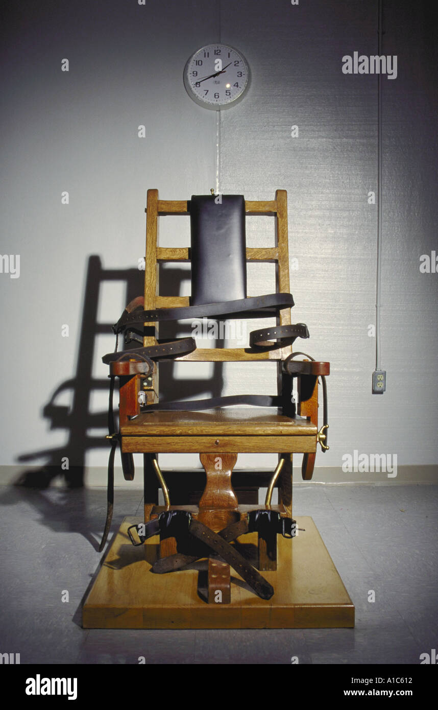 The Electric Chair For Death Penalty At The Greensville