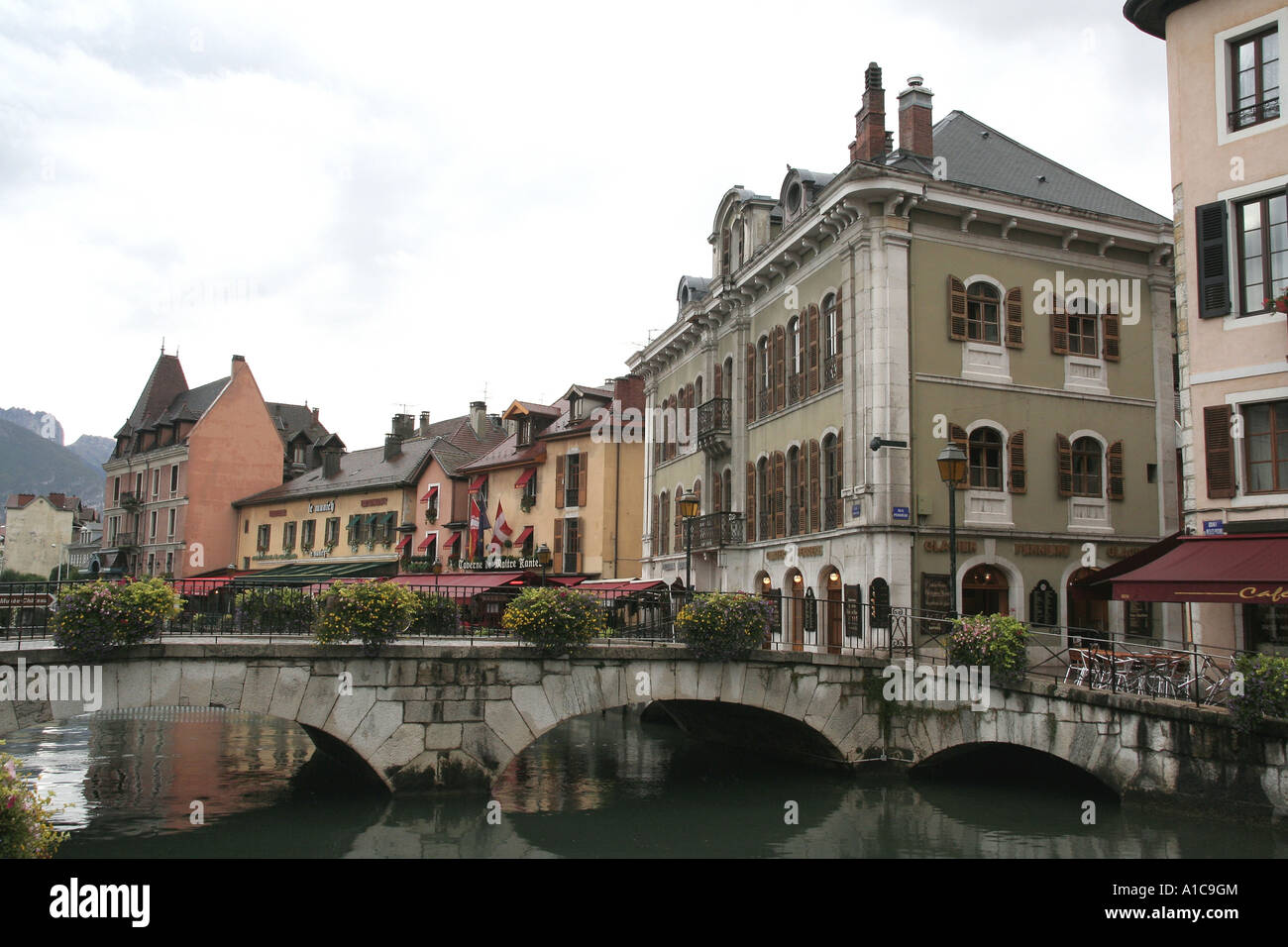 climatic spa Annecy, cityscape, France, Rhne-Alpes, Annecy - Stock Image