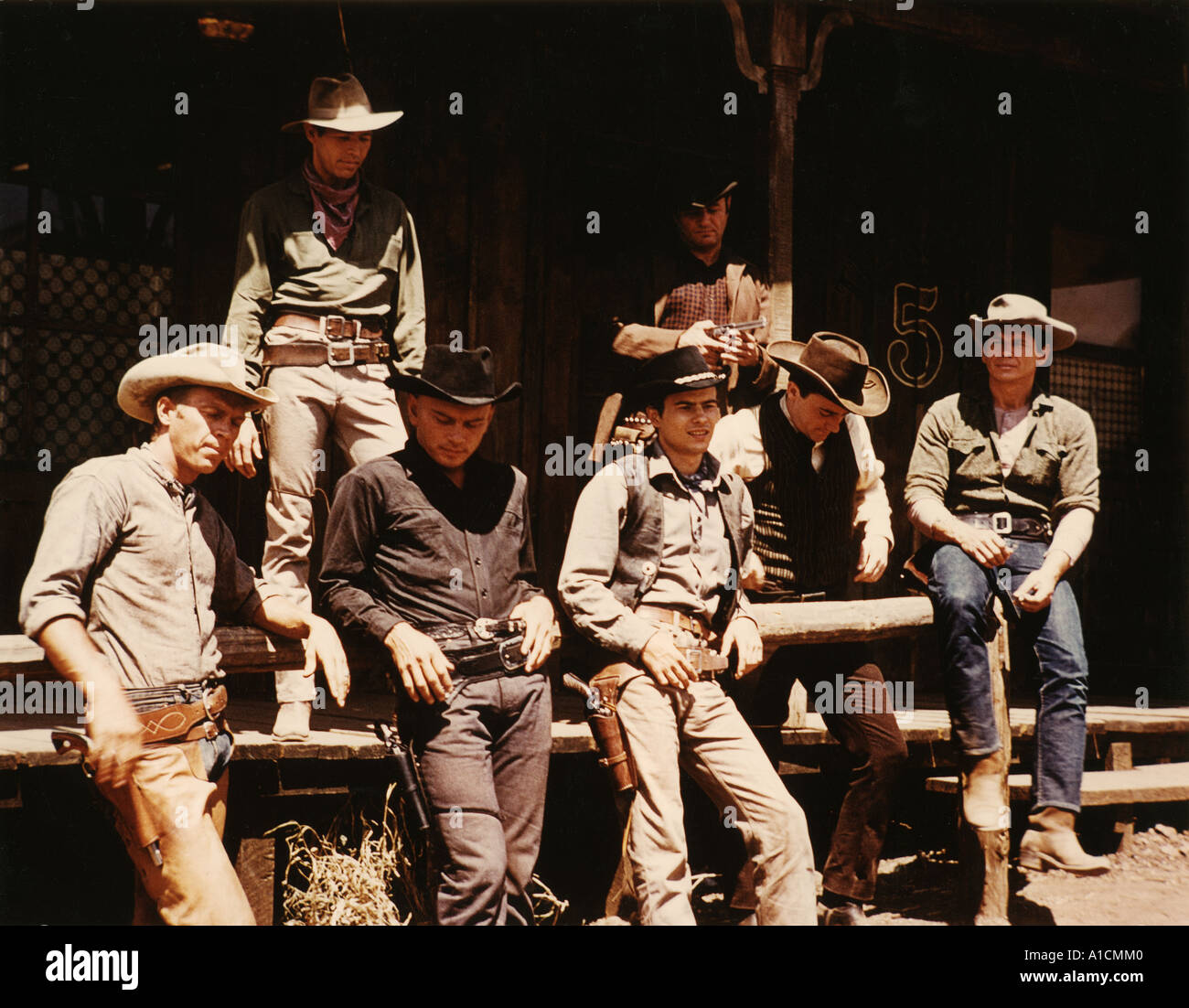 THE MAGNIFICENT SEVEN - Stock Image