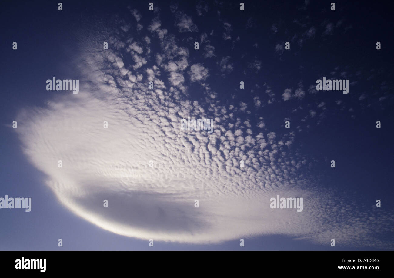 Cloud in sunlight - Stock Image