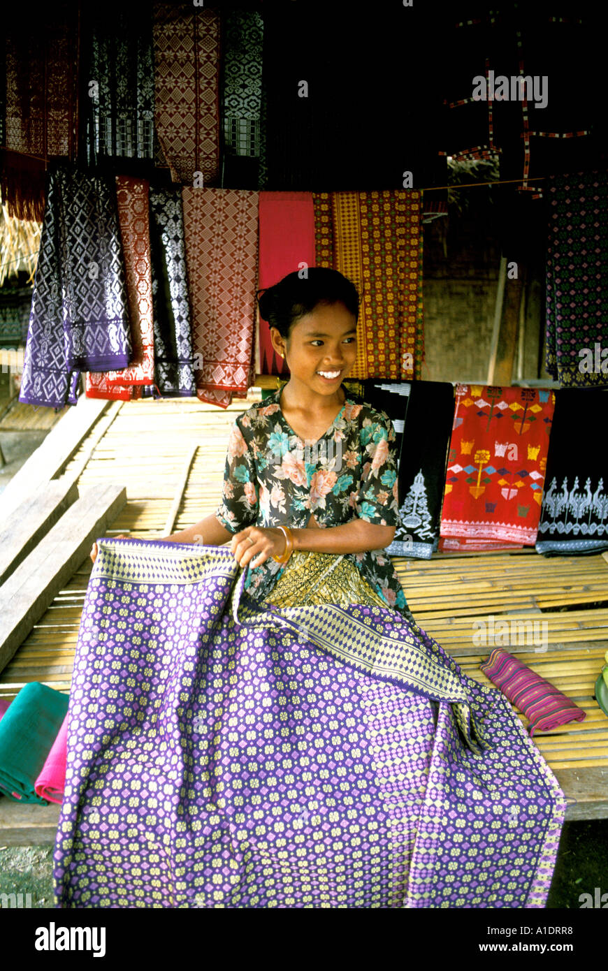 Indonesia Lombok Island Sasak People Rambitan Village Handicrafts