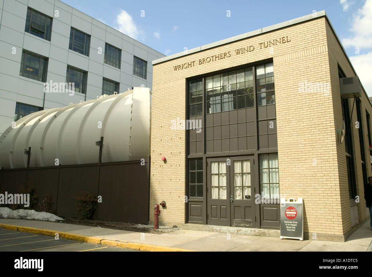 Wright Brothers Wind Tunnel Massachusetts Institute of technology MIT Cambridge MA Stock Photo